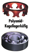 Polyamid-Kugellagerkäfig